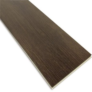 4mm 5mm 6mm Thickness Waterproof Plastic Composite Rigid Luxury Wood UV Coating SPC Vinyl Click Flooring
