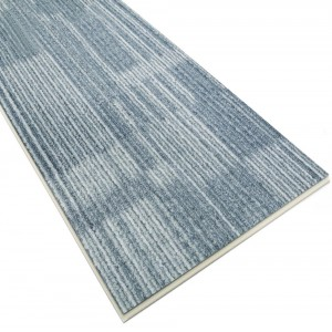 Waterproof Carpet Pattern SPC Flooring Tile