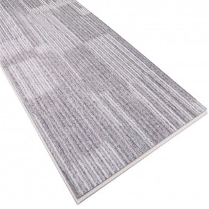 Easy Cleaning and Maintenance Grey Carpet Vinyl Flooring Tile