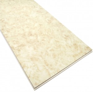 Waterproof Embossing Coral Pattern SPC Flooring Tile