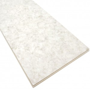Durable Embossing Coral Pattern SPC Click Flooring Tile
