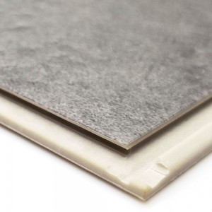 Waterproof Grey Coral Color SPC Click Flooring Tile