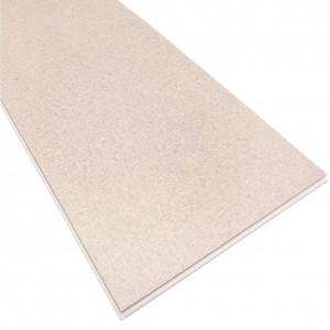 Hot Sell Fabric Texture Stone Polymer Composite Flooring
