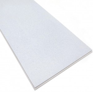 White Color Quick Locking Installation System SPC Laminate Flooring