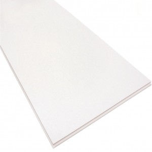 Indoor Residential Pure White Vinyl Rigid Plank for Flooring and Wall Planks
